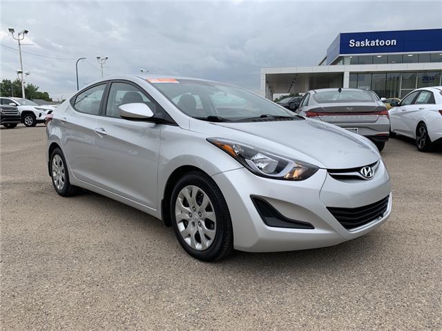 2016 Hyundai Elantra GL (Stk: B7958) in Saskatoon - Image 1 of 11