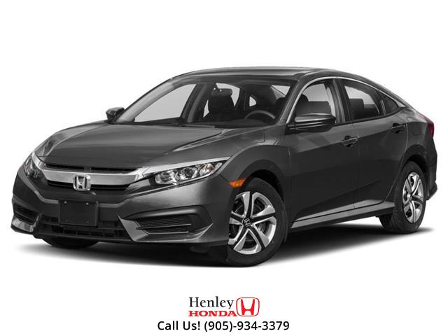 2018 Honda Civic Sedan BLUETOOTH | REAR CAM | HEATED SEATS (Stk: R10224) in St. Catharines - Image 1 of 3