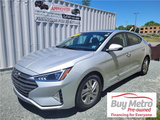 2019 Hyundai Elantra Preferred with sun and safety (Stk: p21-147a) in Dartmouth - Image 1 of 15