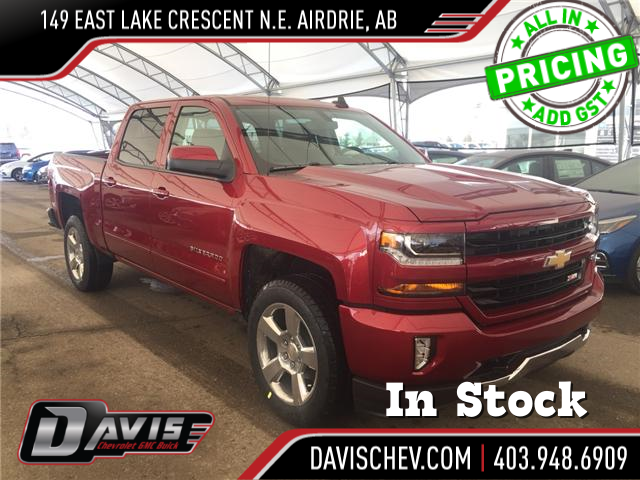 2018 Chevrolet Silverado 1500 2LT (Stk: 161952) in AIRDRIE - Image 1 of 18