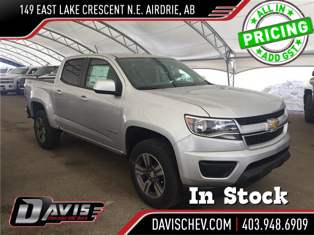 2018 Chevrolet Colorado WT (Stk: 162279) in AIRDRIE - Image 1 of 17