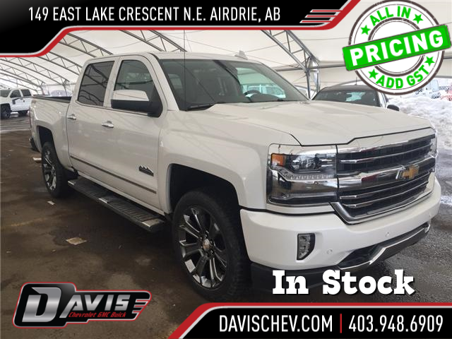 2018 Chevrolet Silverado 1500 High Country (Stk: 161917) in AIRDRIE - Image 1 of 25
