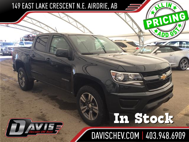 2018 Chevrolet Colorado WT (Stk: 162133) in AIRDRIE - Image 1 of 17