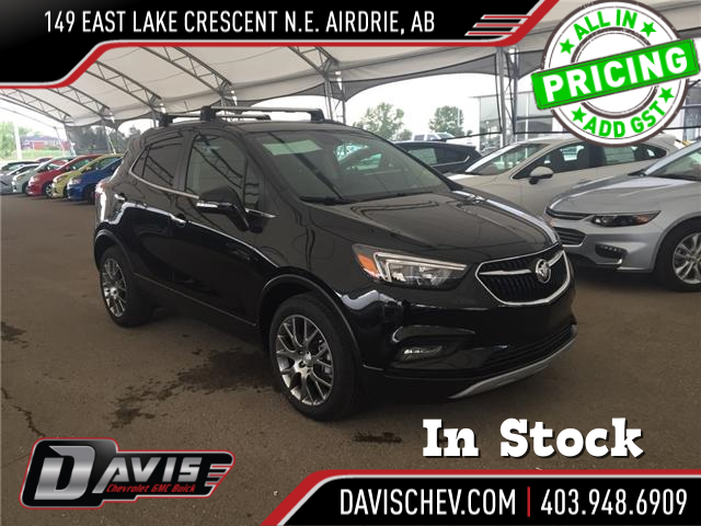 2018 Buick Encore Sport Touring (Stk: 165412) in AIRDRIE - Image 1 of 21