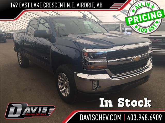 2018 Chevrolet Silverado 1500 1LT (Stk: 165994) in AIRDRIE - Image 1 of 19
