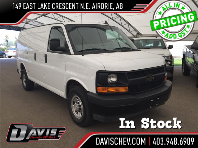 2017 Chevrolet Express 2500 1WT (Stk: 167126) in AIRDRIE - Image 1 of 16