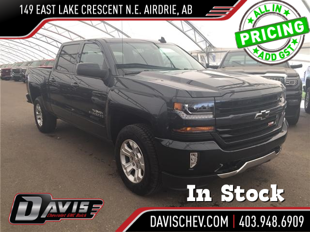 2018 Chevrolet Silverado 1500 LT (Stk: 167576) in AIRDRIE - Image 1 of 20
