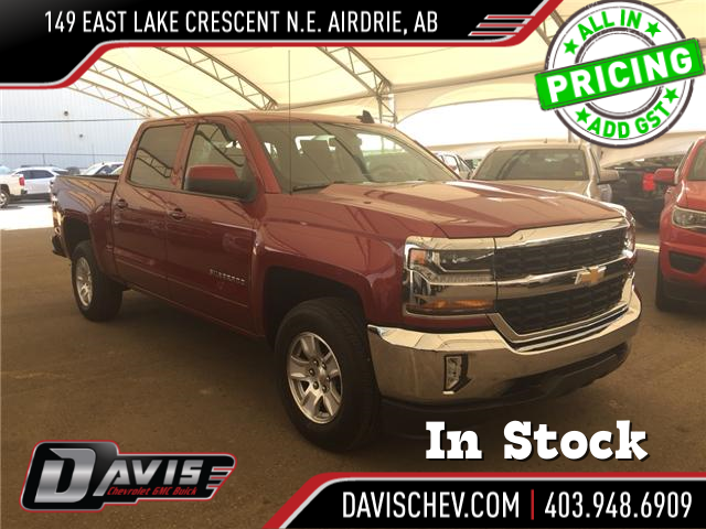 2018 Chevrolet Silverado 1500 1LT (Stk: 166940) in AIRDRIE - Image 1 of 19