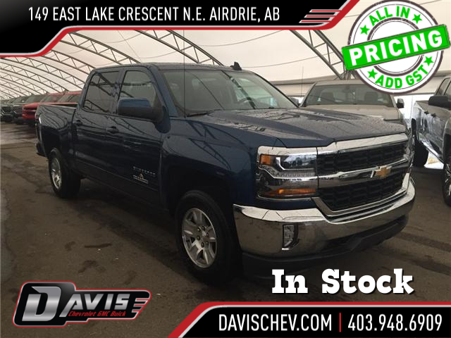 2018 Chevrolet Silverado 1500 LT (Stk: 166985) in AIRDRIE - Image 1 of 19