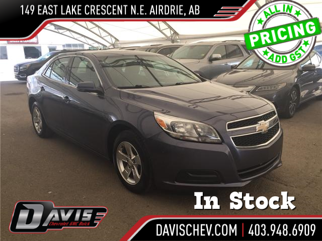 2013 Chevrolet Malibu LS (Stk: 167735) in AIRDRIE - Image 1 of 20