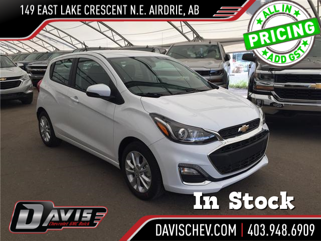 2019 Chevrolet Spark 1LT Manual (Stk: 167796) in AIRDRIE - Image 1 of 20