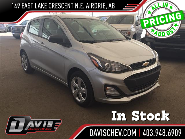 2019 Chevrolet Spark LS Manual (Stk: 167794) in AIRDRIE - Image 1 of 18