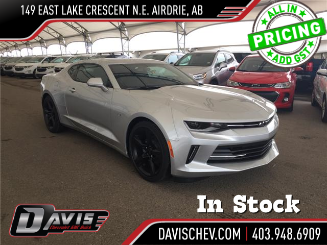 2018 Chevrolet Camaro 1LS (Stk: 167357) in AIRDRIE - Image 1 of 21