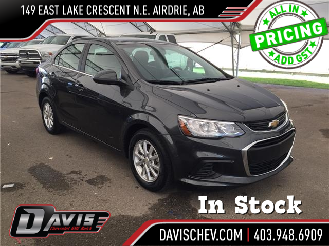 2017 Chevrolet Sonic LT Auto (Stk: 168361) in AIRDRIE - Image 1 of 20