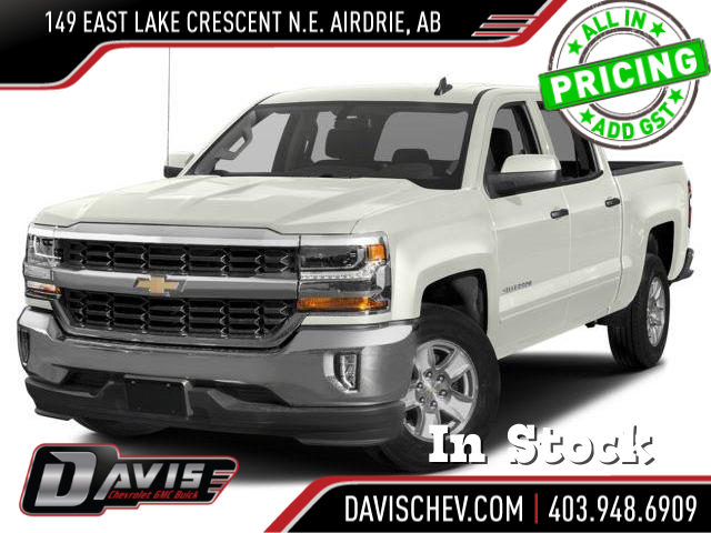 2018 Chevrolet Silverado 1500 2LT (Stk: 168838) in AIRDRIE - Image 1 of 9