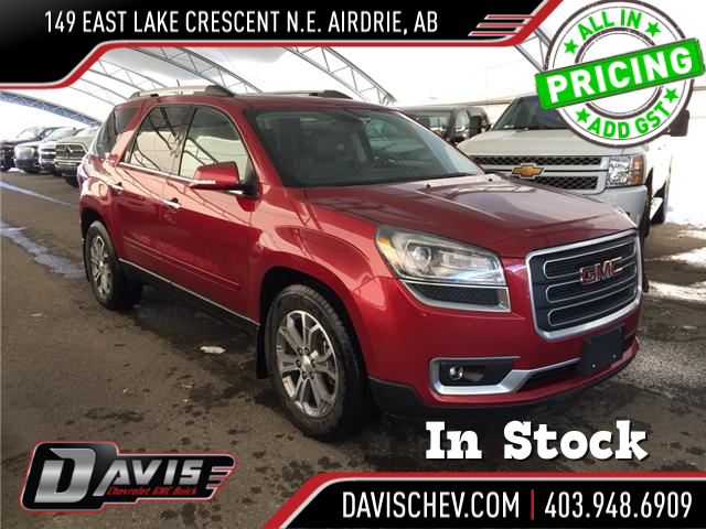 2014 GMC Acadia SLT1 (Stk: 117130) in AIRDRIE - Image 1 of 23