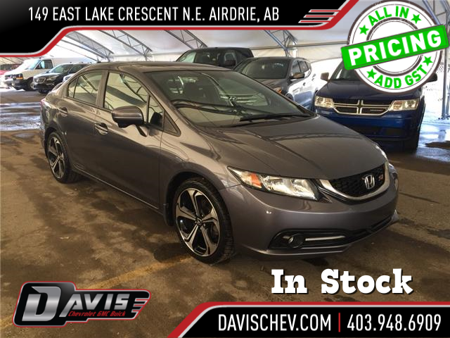 2015 Honda Civic Si (Stk: 168492) in AIRDRIE - Image 1 of 20