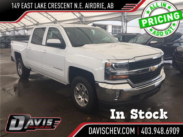 2018 Chevrolet Silverado 1500 1LT (Stk: 168176) in AIRDRIE - Image 1 of 19