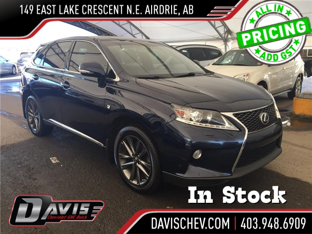 2014 Lexus RX 350 F Sport (Stk: 147166) in AIRDRIE - Image 1 of 24