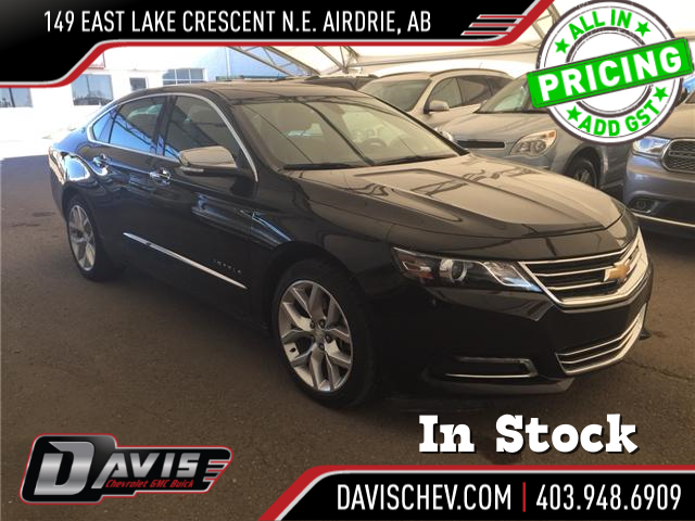 2018 Chevrolet Impala 2LZ (Stk: 168474) in AIRDRIE - Image 1 of 24