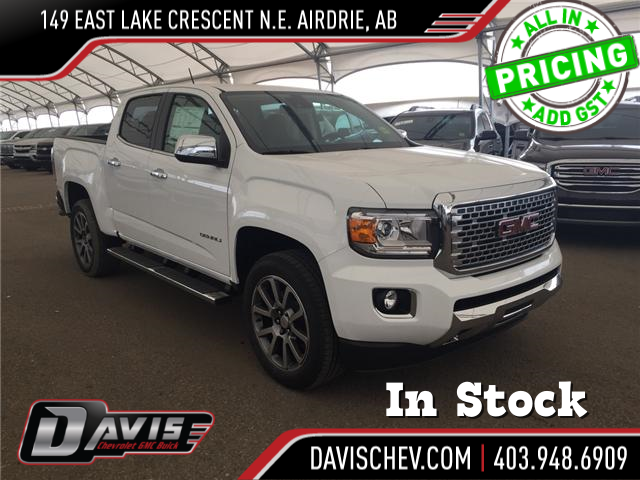 2019 GMC Canyon Denali (Stk: 168964) in AIRDRIE - Image 1 of 19