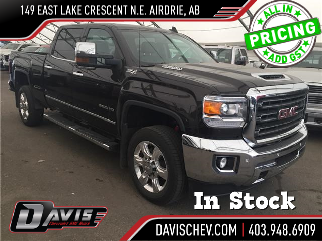 2018 GMC Sierra 2500HD SLT (Stk: 169086) in AIRDRIE - Image 1 of 20