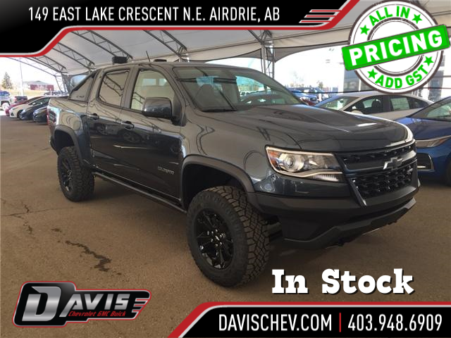 2019 Chevrolet Colorado ZR2 (Stk: 168892) in AIRDRIE - Image 1 of 21