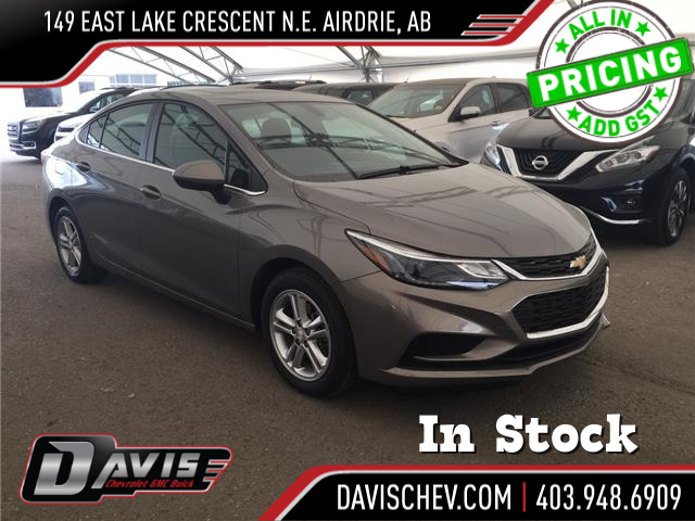 2018 Chevrolet Cruze LT Auto (Stk: 159772) in AIRDRIE - Image 1 of 25