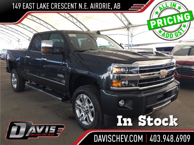 2019 Chevrolet Silverado 2500HD High Country (Stk: 169522) in AIRDRIE - Image 1 of 21