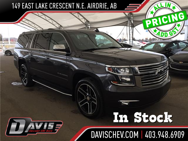 2016 Chevrolet Suburban LTZ (Stk: 169545) in AIRDRIE - Image 1 of 28