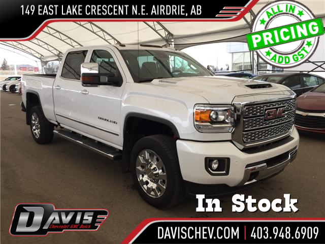 2018 GMC Sierra 2500HD Denali (Stk: 163537) in AIRDRIE - Image 1 of 24