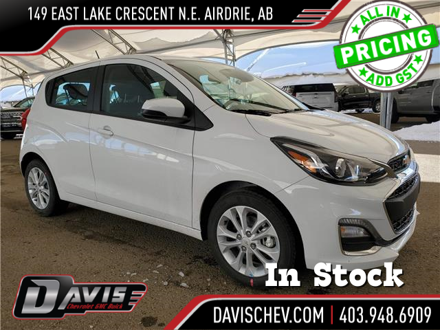 2021 Chevrolet Spark 1LT CVT KL8CD6SA1MC716090 186908 in AIRDRIE