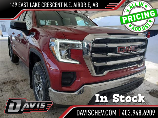 2021 GMC Sierra 1500 SLE (Stk: 189272) in AIRDRIE - Image 1 of 26