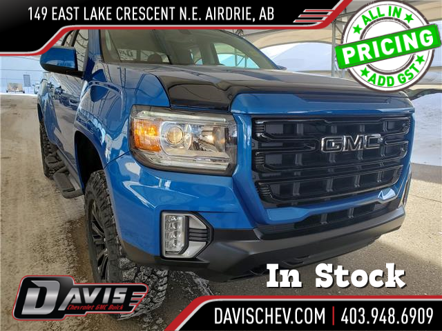 2021 GMC Canyon Elevation (Stk: 188193) in AIRDRIE - Image 1 of 27