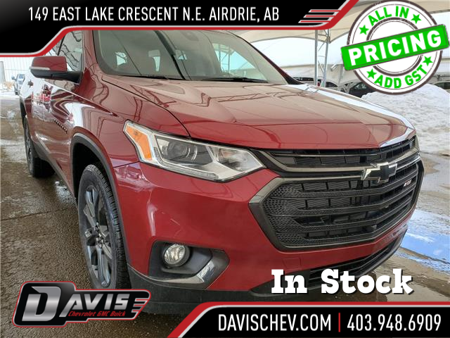 2021 Chevrolet Traverse RS (Stk: 189175) in AIRDRIE - Image 1 of 35