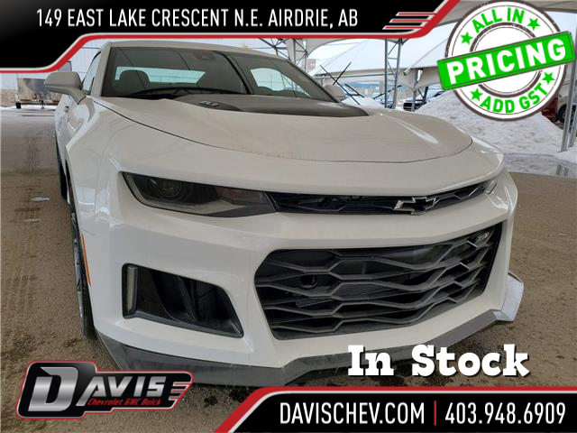 2021 Chevrolet Camaro ZL1 (Stk: 186930) in AIRDRIE - Image 1 of 35