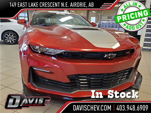 2021 Chevrolet Camaro 2SS (Stk: 187057) in AIRDRIE - Image 1 of 34
