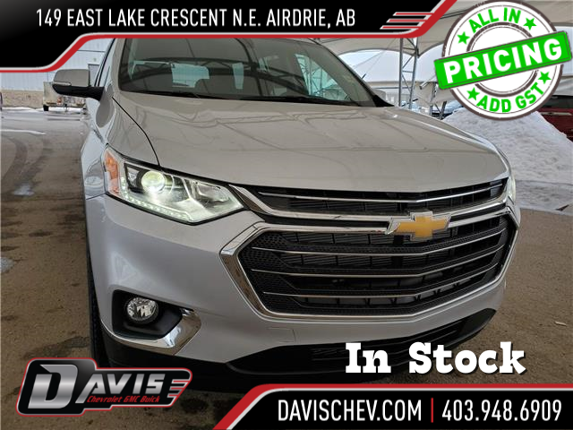 2021 Chevrolet Traverse LT Cloth (Stk: 189046) in AIRDRIE - Image 1 of 29