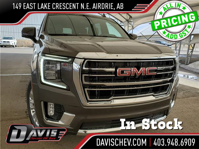 2021 GMC Yukon SLT 1GKS2BKT0MR283463 189648 in AIRDRIE