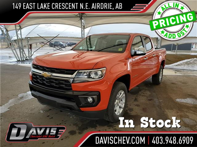 2021 Chevrolet Colorado LT (Stk: 189957) in AIRDRIE - Image 1 of 25