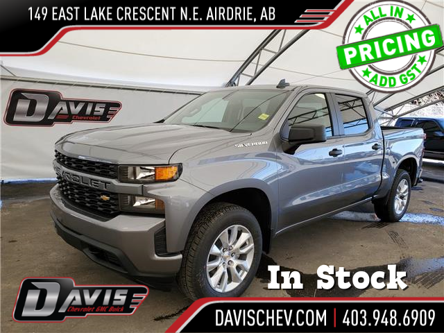 2021 Chevrolet Silverado 1500 Custom (Stk: 190338) in AIRDRIE - Image 1 of 23