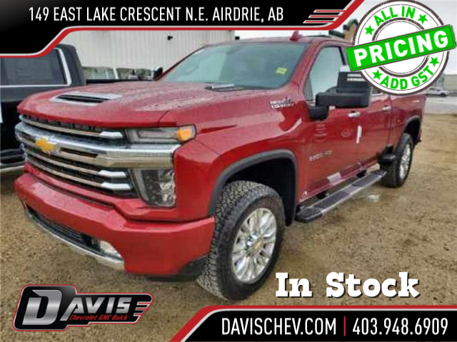 2021 Chevrolet Silverado 3500HD High Country (Stk: 190701) in AIRDRIE - Image 1 of 4