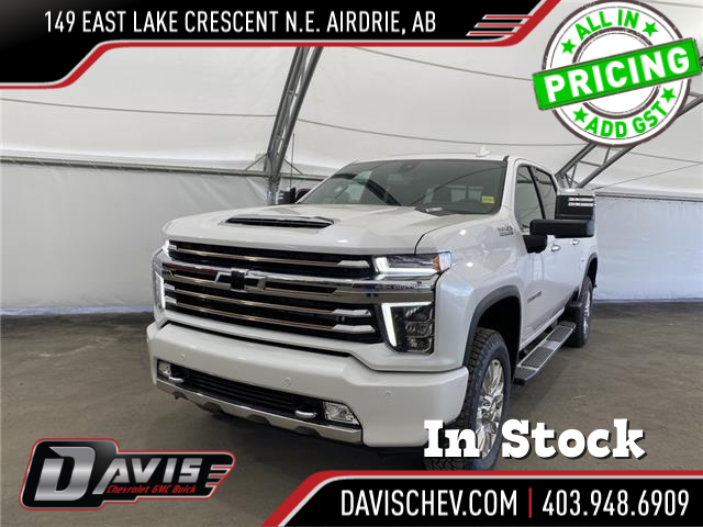 2021 Chevrolet Silverado 3500HD High Country (Stk: 190889) in AIRDRIE - Image 1 of 20