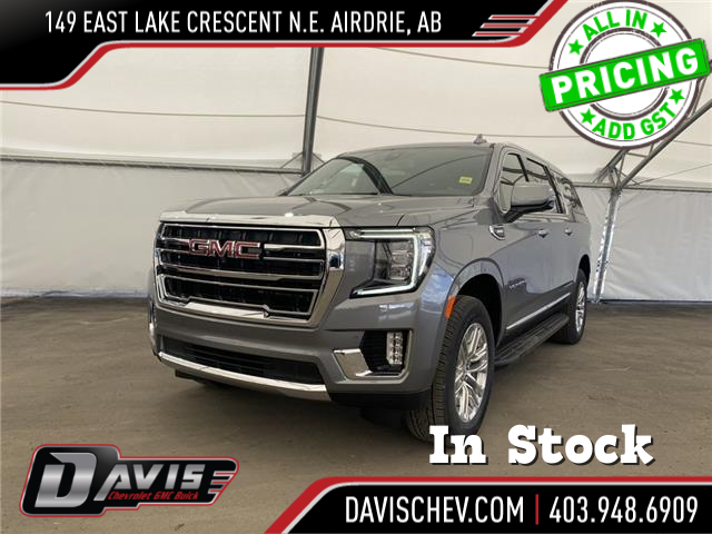 2021 GMC Yukon XL SLT (Stk: 190573) in AIRDRIE - Image 1 of 23