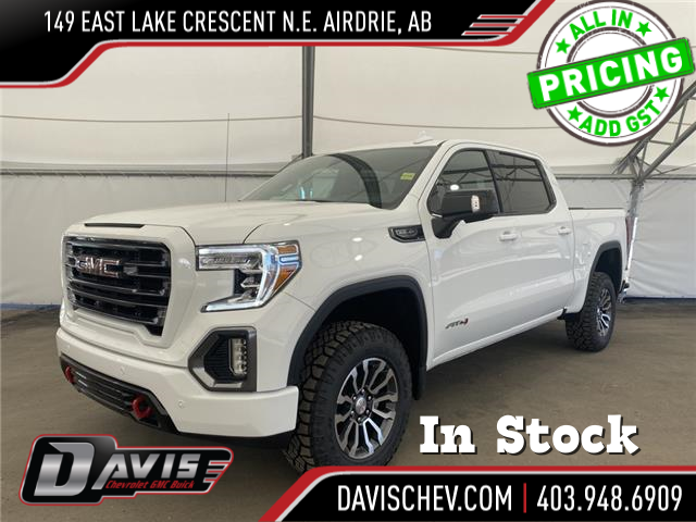 2021 GMC Sierra 1500 AT4 (Stk: 191619) in AIRDRIE - Image 1 of 18
