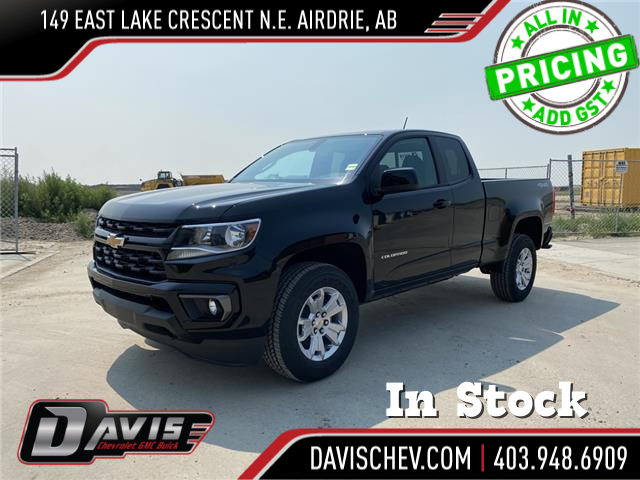 2021 Chevrolet Colorado LT (Stk: 190697) in AIRDRIE - Image 1 of 21