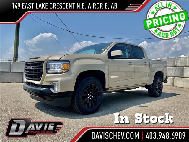 2021 GMC Canyon Elevation (Stk: 191589) in AIRDRIE - Image 1 of 24