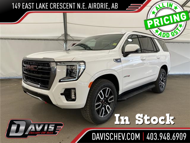 2021 GMC Yukon AT4 (Stk: 192484) in AIRDRIE - Image 1 of 19