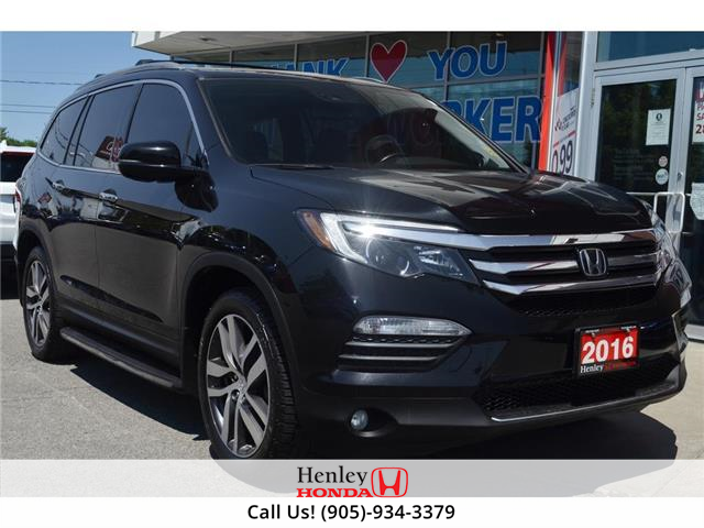 2016 Honda Pilot NAV | LEATHER | RES | REAR CAM | BLUETOOTH (Stk: R10195) in St. Catharines - Image 1 of 30