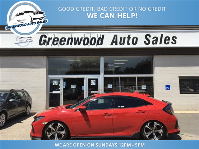 2017 Honda Civic Sport Touring (Stk: 17-10174) in Greenwood - Image 1 of 19